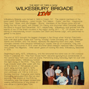 The signature Album was officially released at Wilkesburys show on October 7, 2018 in Syracuse, NY